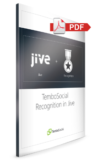 TemboSocial Recognition in Jive PDF Download