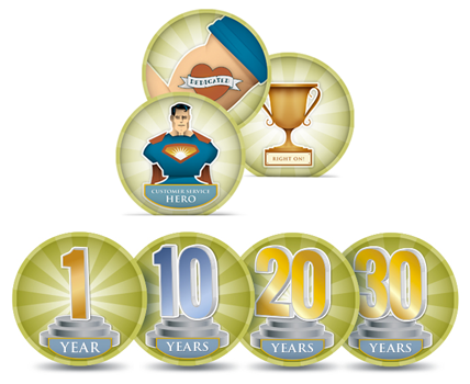 The social trophy case for employees | TemboSocial