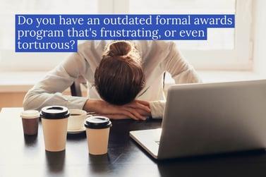 3 common failings of formal awards programs | TemboSocial
