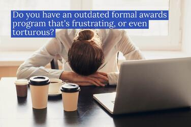 3 common failings of formal awards programs | TemboSocial
