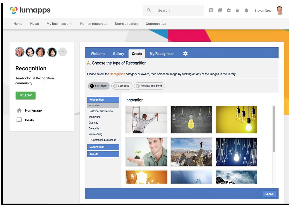 LumApps Main Page copy