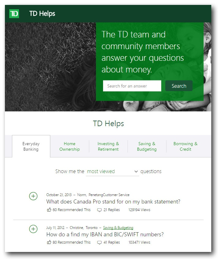 TD Helps | TemboSocial Comments