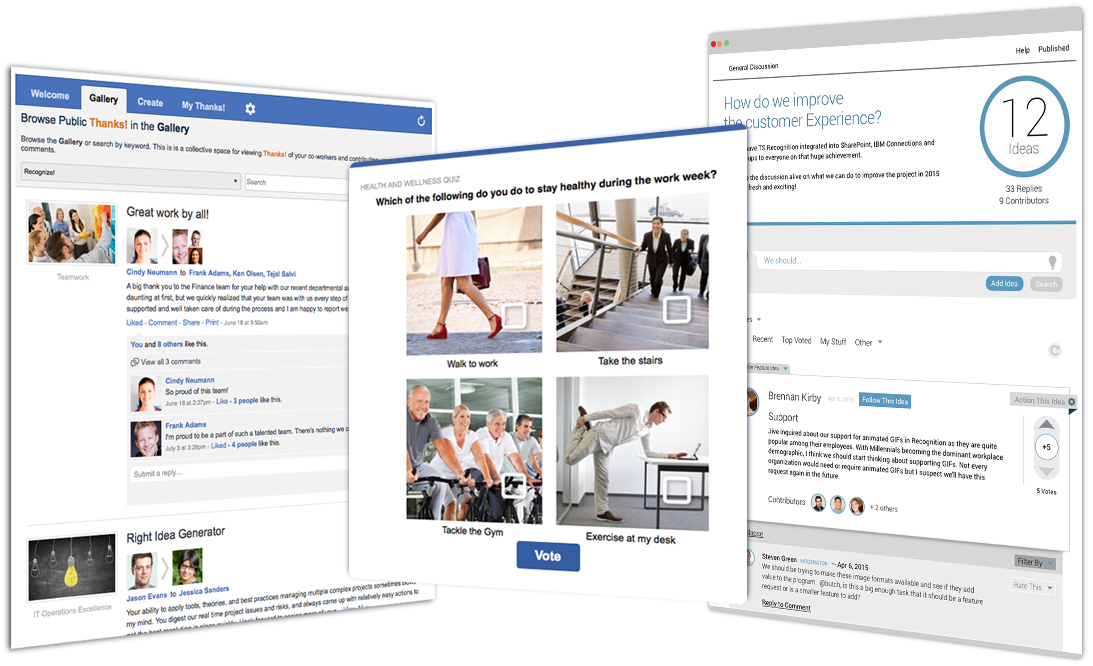 Leverage your Intranet investment with TemboSocial's integrated solutions