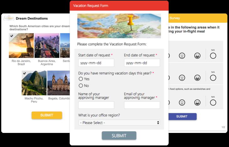 TemboSocial Surveys, Forms & Polls