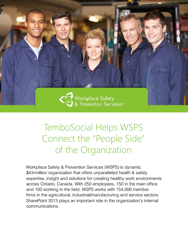 Case Study: WSPS brings cultures together with TemboSocial Recognition