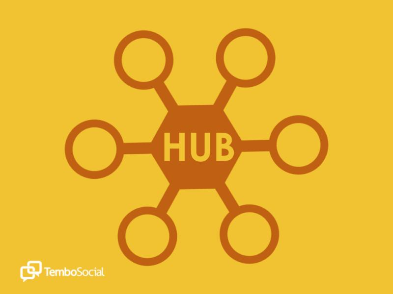 The hub for connection, conversation and community
